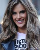 Alessandra Ambrosio's Long Layered Haircut
