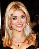 Holly Willoughby's Long Blonde Straight Haircut