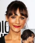Rashida Jones' Cute Low Bun