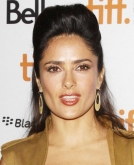 Salma Hayek's High Quiff Hairstyle