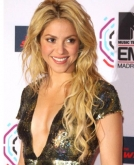 Shakira's Honey-blonde Sexy Curls