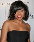 Taraji P. Henson's Chin-length Waves with Bangs