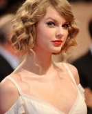 Taylor Swift's Messy Updo