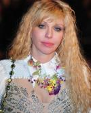 Courtney Love's Long Wavy Hairstyle