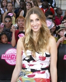 Whitney Port's Beautiful Long Curly Hairstyle at the 2010 MMVAs
