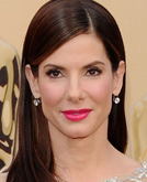 Sandra Bullock's Sleek Side-parted Hairstyle at 2010 Oscars Red Carpet