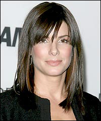 Sandra Bullock Medium Hairstyle