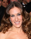 Sarah Jessica Parker Long Hairstyle with Curls at Oscars 2009