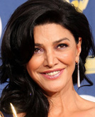 Shohreh Aghdashloo's Sexy Wavy Hairstyle at Emmy Awards 2009