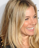 Sienna Miller's Blond Casual Hairstyle