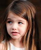 Suri Cruise's Long Hairstyle Like a Elegant Lady
