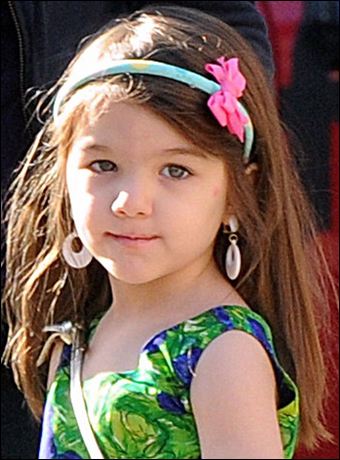 Suri Cruise's Blue Headband Hairstyle