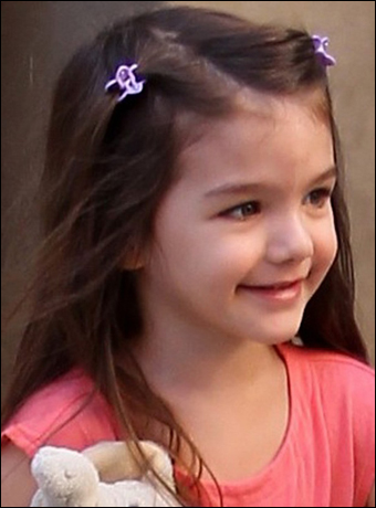 french twist hairstyle. Suri Cruise#39;s French Twist