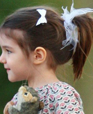 Suri Cruise's High Ponytail Hairstyle