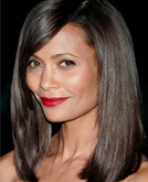 Thandie Newton's Shoulder Length Upgraded Bob Hairstyle
