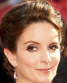 Tina Fey's Elegant Chignon Hairstyle at Emmy Awards 2009