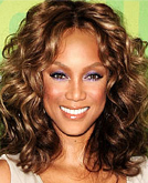 Haircut Banking : Tyra Banks Curly Hairstyle
