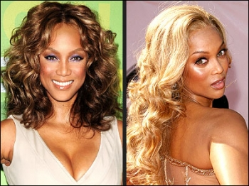 Tyra Bank hairstyles