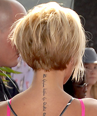 bob hairstyles the back view the back view of the