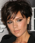Victoria Beckham's Signature Pob and Mid-length Tapered Hairstyle