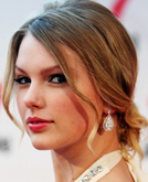 Taylor Swift Elegant Low Chignon Hairstyle