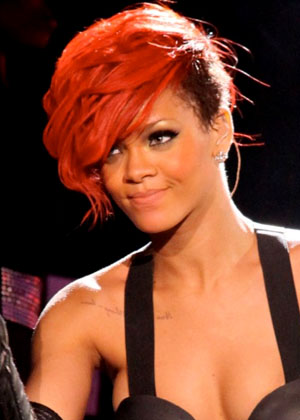 rihanna red hair wallpaper. Red hair rihanna wallpapers.