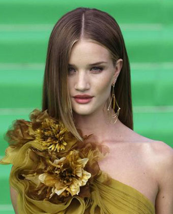 Lindsay Acura on Rosie Huntington Whiteley Haircut