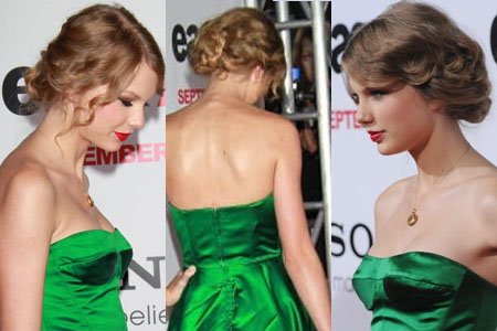hairstyles taylor swift. Taylor Swift#39;s Romantic Wavy