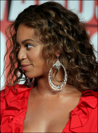 Beyonce's Sexy Curly Hairstyle at MTV VMAs 2009
