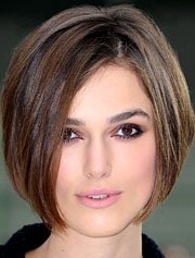 Keira Knightley: Square Face Shape Haircut Hits and Miss