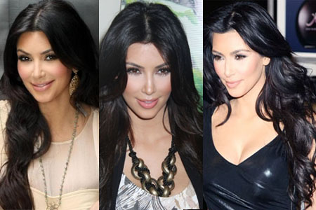 kim kardashian hairstyles curly. No matter what her hairstyle