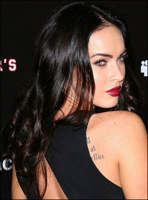 Megan Fox Hands And Feet. megan fox curly hairstyles