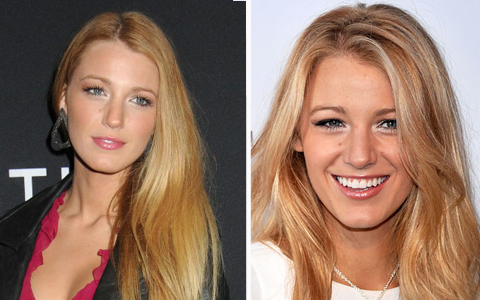 Blake Lively Straight Hair on Side Pony No Matter Straight Or Wavy Blake Really Likes
