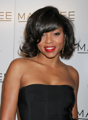 hair style virtual taraji p henson s chin length waves with bangs 3438 | taraji p henson 25043